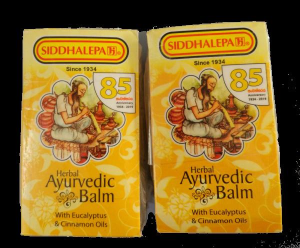 Siddhalepa BALM - Wellness Balsam 2x50g